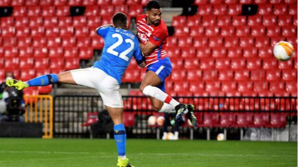 Liga Europa. Un notable Granada toma ventaja ante el Nápoles |2-0