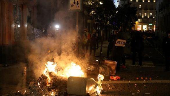 Los Mossos han detenido a 113 personas durante las protestas en apoyo a Hasel