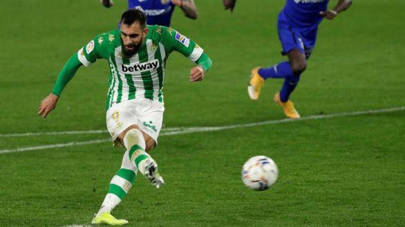 El Betis se aferra a Europa mientras el Getafe sigue paralizado |1-0