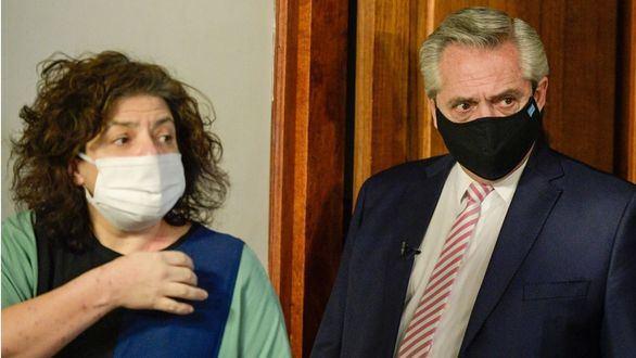 El presidente argentino destituye a su ministro de Salud por una vacunación VIP