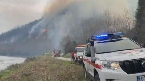 Extinguido el incendio de Navarra que ha arrasado unas 1.800 hectáreas