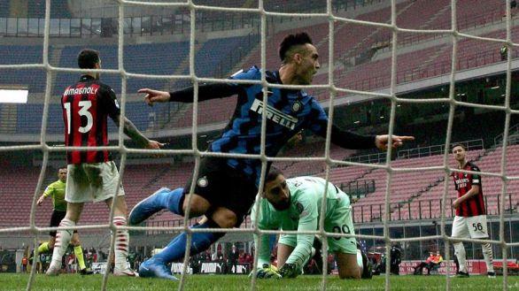 Lautaro y Lukaku colocan al Inter como rey de MIlán |0-3