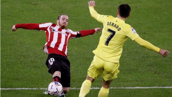 Un tanto de Gerard Moreno le vale al Villarreal para aguantar el arreón del Athletic |1-1
