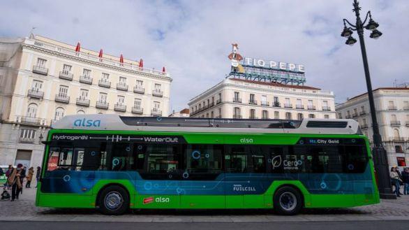 Así es el primer autobús de hidrógeno que circulará en España: cero emisiones y silencioso