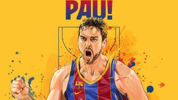 ACB. Oficial: Pau Gasol firma como nuevo jugador del Barcelona