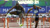 Mitin de Madrid. Holloway bate el récord mundial de 60 metros vallas