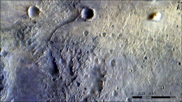 La sonda ExoMars fotografía el rover Perseverance desde su órbita alrededor de Marte