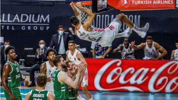 Euroliga. El Real Madrid cierra el grifo del pánico |70-58