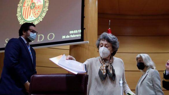 Rosa María Mateo denuncia el