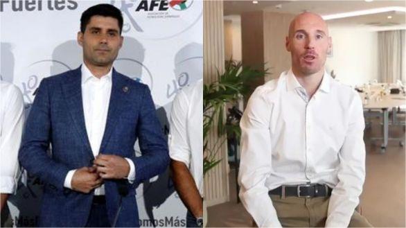David Aganzo y Gaizka Toquero, rivales por la presidencia de la AFE