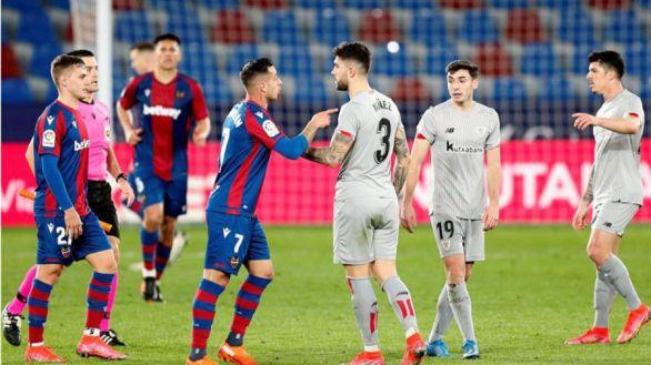 Levante y Athletic firman tablas como prólogo al duelo copero  1-1