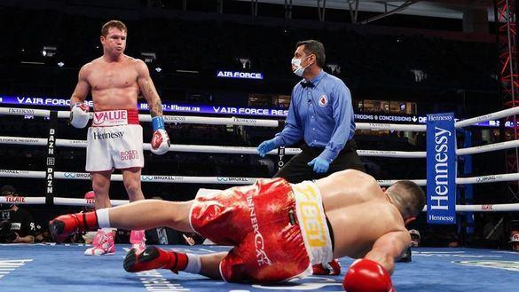 Boxeo. 'Canelo' Álvarez se pasea ante Yildirim y sigue su camino hacia la gloria