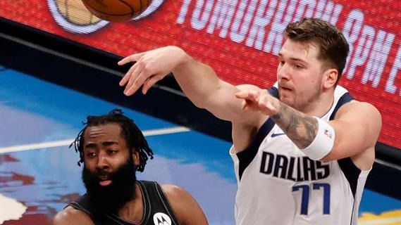 NBA. Doncic hipnotiza a los Nets de Harden y le comparan con Larry Bird