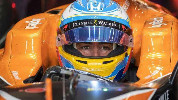 Fórmula Uno. Fernando Alonso reaparece sin señales de su accidente