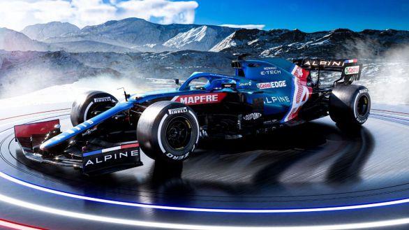 Fórmula Uno. Así luce el A521, el monoplaza con el que Fernando Alonso espera recuperar la gloria
