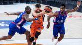 Euroliga. El Anadolu Efes frena la progresión del Valencia Basket | 99-83