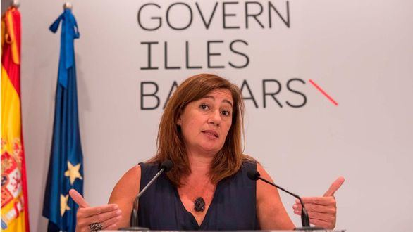 La presidenta de Baleares, Francina Armengol.