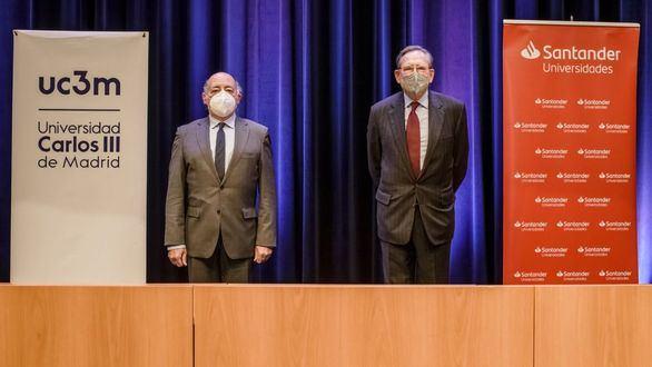 El Banco Santander y la UC3M ayudarán con becas de máster y doctorado a 135 investigadores