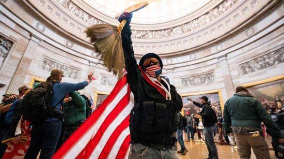 Asalto al Capitolio de EEUU, el pasado mes de enero.