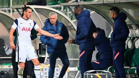 Mourinho acusa al Real Madrid del rendimiento de Gareth Bale
