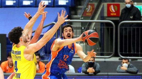 Euroliga. La defensa del Maccabi asfixia a un impotente Valencia |84-72