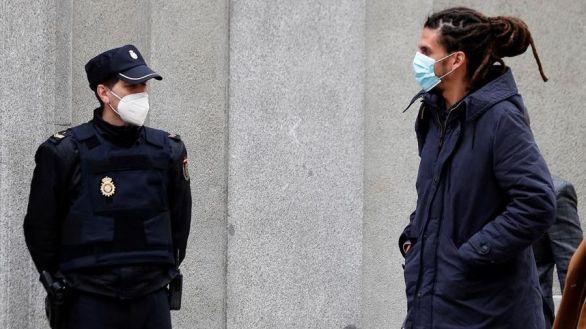El secretario de Organización de Podemos niega haber golpeado a un policía en una manifestación