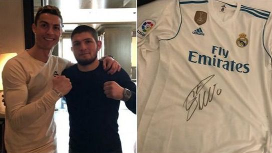 UFC. Khabib Nurmagomedov confiesa el peor miedo de su amigo Cristiano Ronaldo