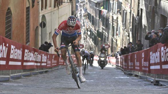 Strade Bianche. El diamante Van der Poel se corona en Siena