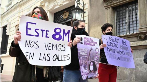 La Fiscalía pide que se mantenga la prohibición de las manifestaciones del 8M