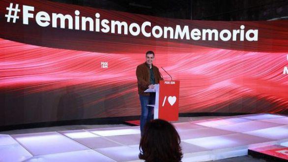 Sánchez avisa a Vox de que su 'conservadurismo reaccionario' no va a 'parar' a las mujeres