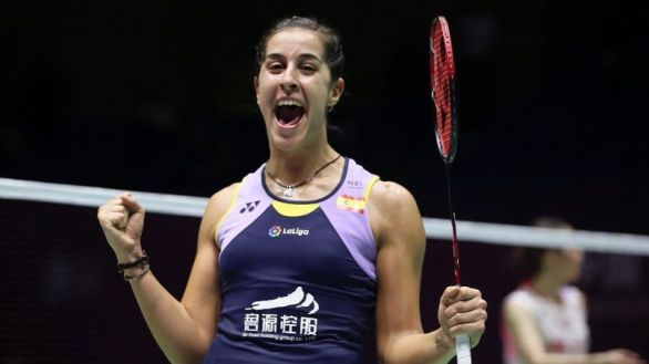 Abierto de Suiza. Carolina Marín arrasa y se proclama campeona