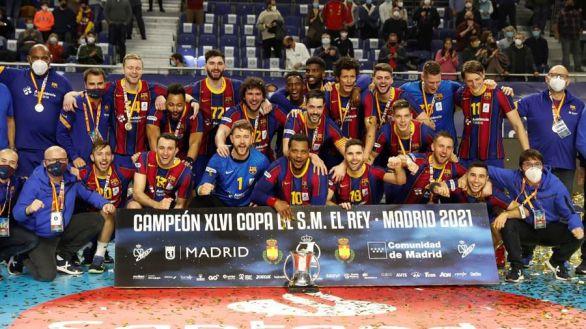 Copa del Rey. El Barcelona vuelve a triunfar y despide a Entrerríos a lo grande