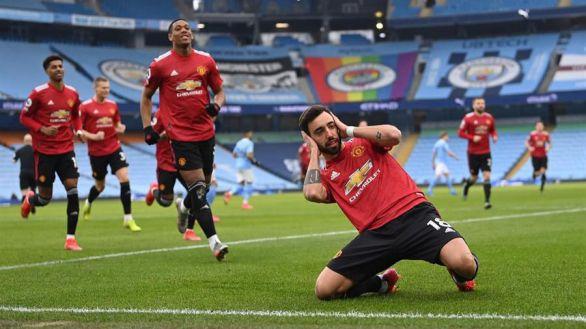 Ligas europeas. El United colapsa la racha del City y Morata brilla