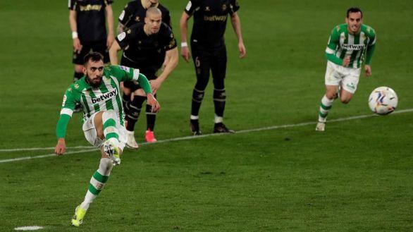 Borja Iglesias lanza al Betis en el minuto 88 | 3-2