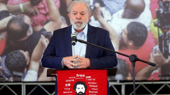 Lula, tras salir de prisión: