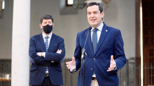 Marín y Moreno exhiben la unidad del Ejecutivo andaluz pese al