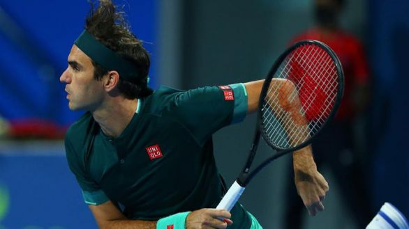 Torneo de Doha. Federer vuelve a jugar al tenis: lejos de su nivel pero feliz