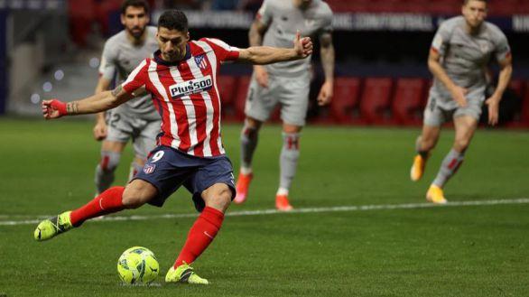 Luis Suárez tumba al Athletic y la candidatura del Atlético despega | 2-1