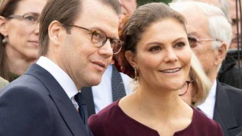 Victoria de Suecia y su marido, positivo por coronavirus