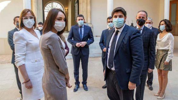 Los diputados de Cs toman posesión como consejeros en Murcia