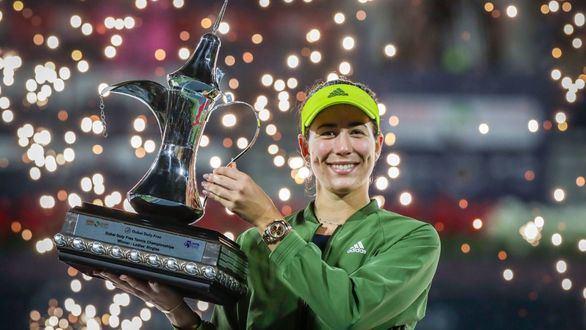 WTA 1.000 Dubai. Muguruza vuelve a la cima: campeona dos años después