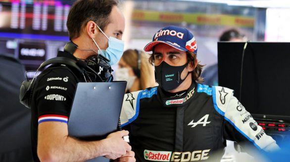 Pretemporada F1. Fernando Alonso y Alpine echan el cierre