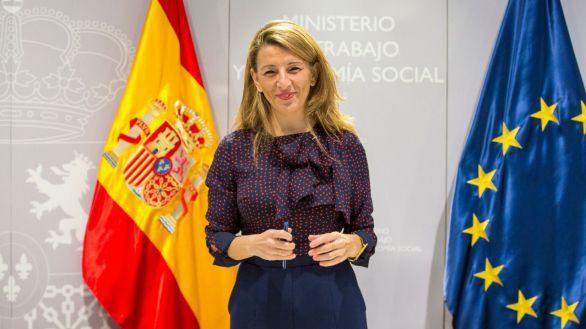 Yolanda Díaz asume