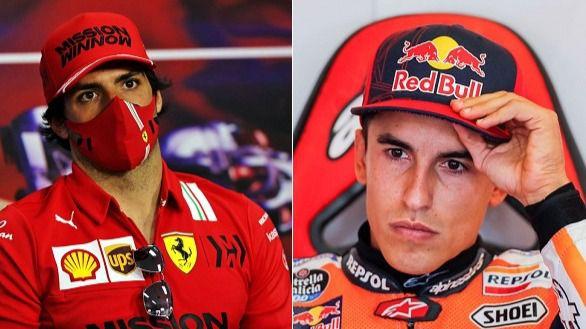 Motor. Márquez y Sainz se hartan de las críticas por vacunarse en Catar y Bahréin