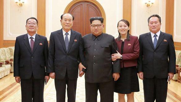 La hermana de Kim Jong-un, a Biden: