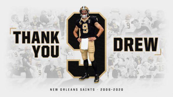 NFL. Dice adiós Brees, el jugador que iluminó Nueva Orleans tras el huracán Katrina
