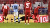 El Bayern confirma su dominio sobre la Lazio | 2-1