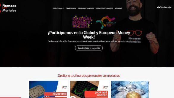 Banco Santander participará en la Global Money Week a través del programa Finanzas para Mortales