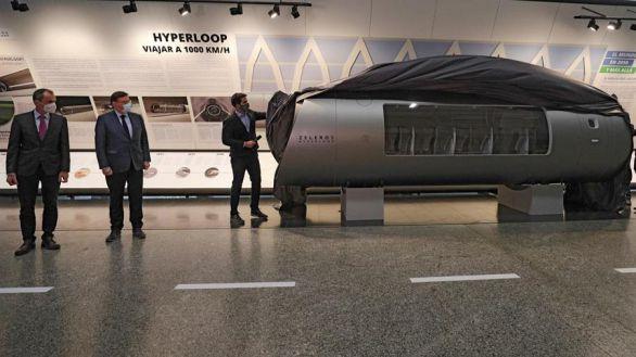 Presentado en Valencia el hyperloop, el vehículo que viajará a 1.000 km/h