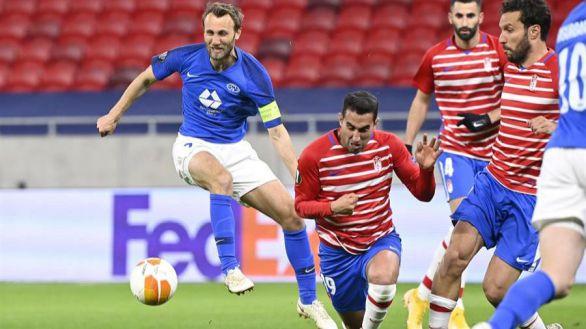 Liga Europa. El Granada se sobrepone al esfuerzo del Molde para pasar a cuartos |2-1